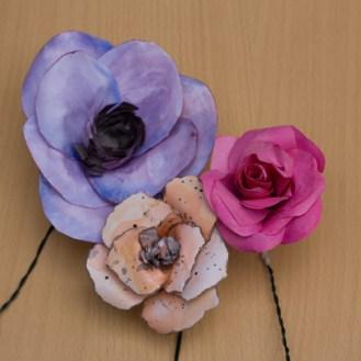 Handpainted Paper Flowers