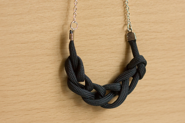 Statement Crochet Chain Necklace