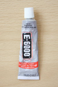 Which Glues to use for making jewellery - E6000