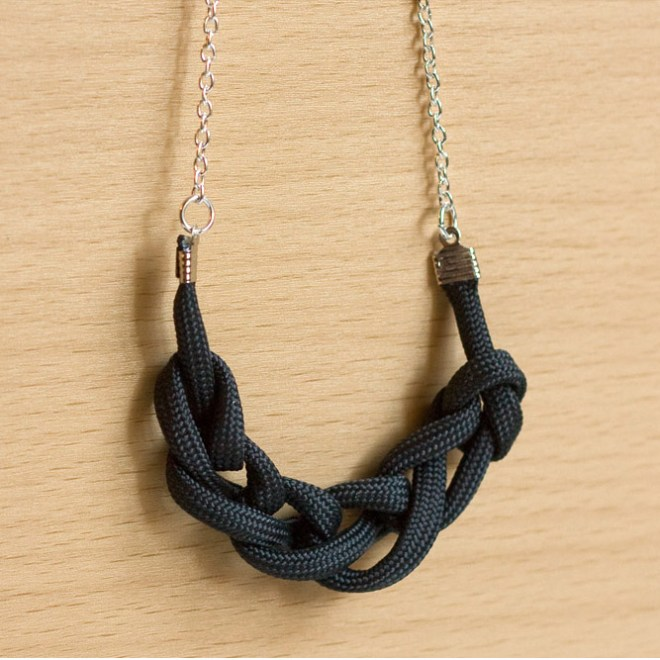 Chain Knot Necklace