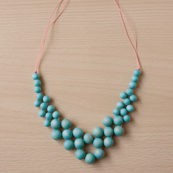 summer statement necklace DIY