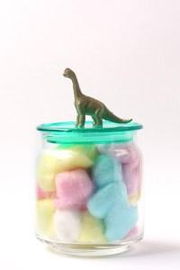 DIY Dinosaur Jar