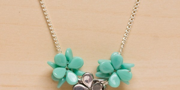 Flower Burst Spring Necklace