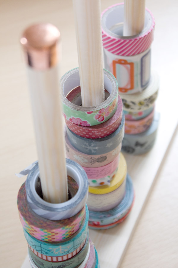 Washi Tape Storage DIY