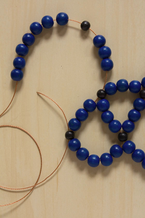Beaded Statement Collar Necklace DIY Tutorial