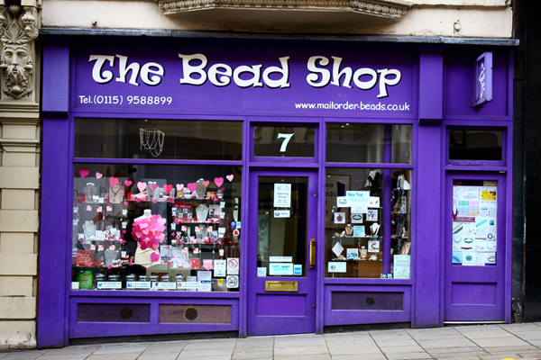 Nottingham City Guide - The Bead Shop Nottingham