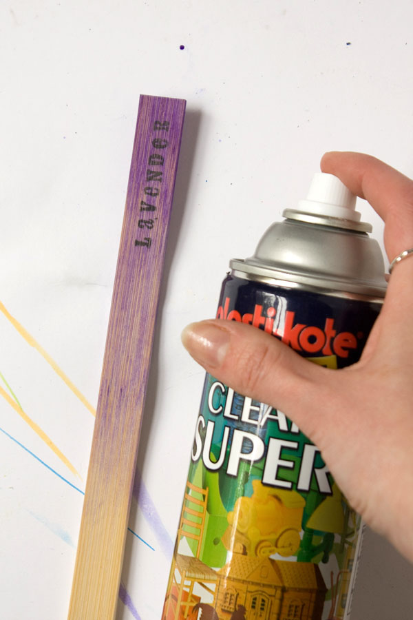 Ombre Plant Markers DIY Tutorial