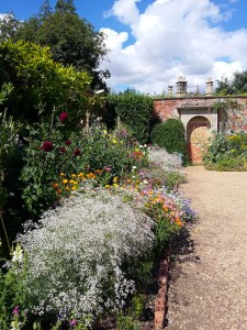 Belton House Gardens- Old Rose Garden and Parterres