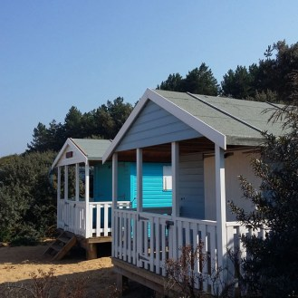 Visiting North Norfolk - Old Hunstanton Beach Huts