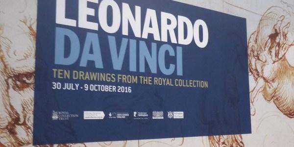 For the love of Leo – Ten Drawings from Leonardo da Vinci Exhibition