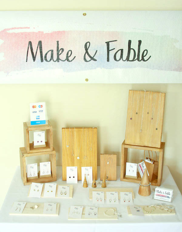 Make and Fable Silver and Gemstone Jewellery