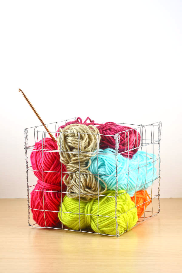 Wire Basket DIY Tutorial