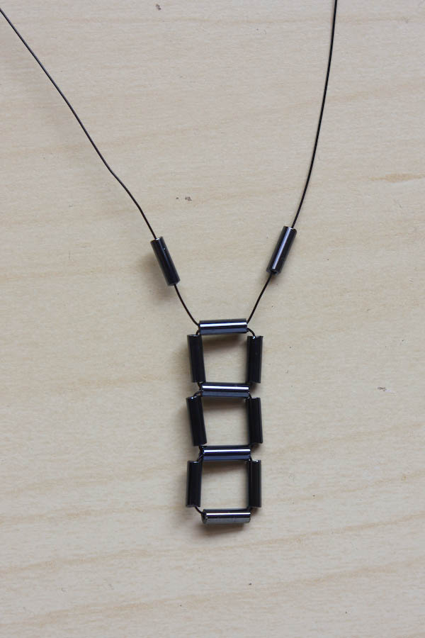 Geometric Cube Necklace DIY Tutorial