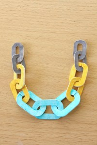 Shrink Plastic Chain Necklace DIY Tutorial