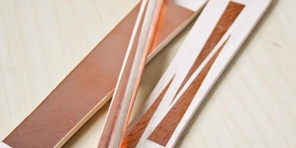 DIY Copper Kitchen Utensils