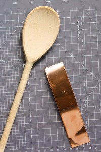 Copper and Wood Kitchen Utensils by Make and Fable