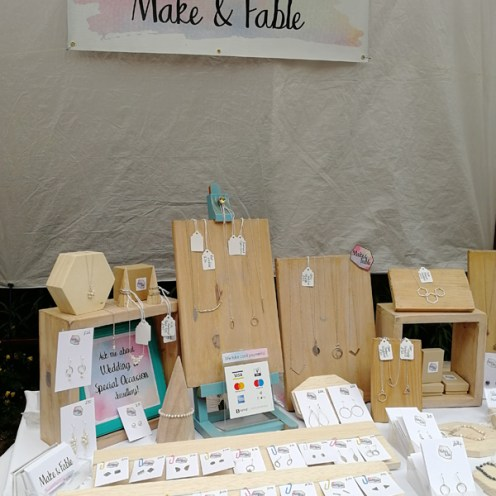 Make and Fable Stall 2018