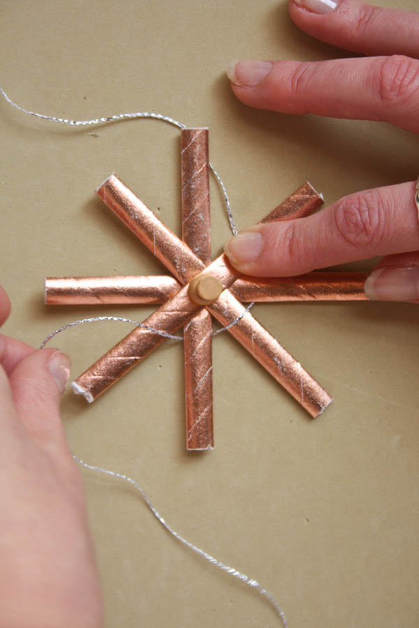 Paper Straw Star Decorations DIY Tutoria