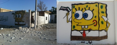 Spongebob after