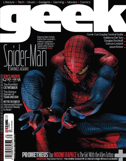 Geek Magazine Cover