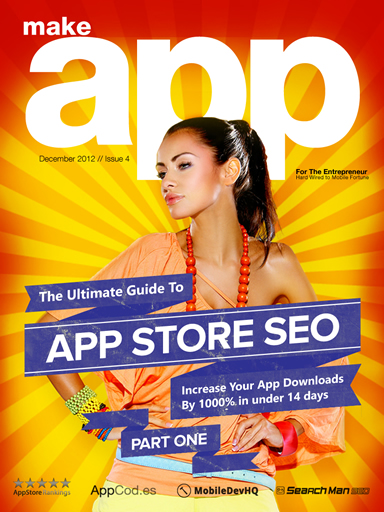 make app magazine issue 4 cover