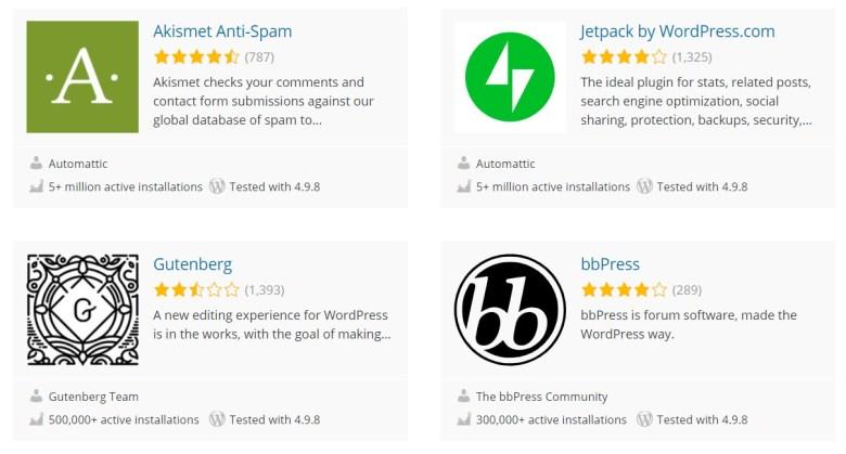 Plugin di WordPress