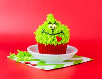 Grinch Cupcake Tutuorial || Letters from Santa Blog