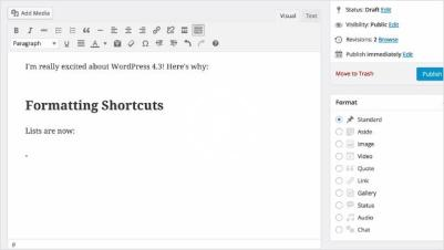 shortcut-formatting