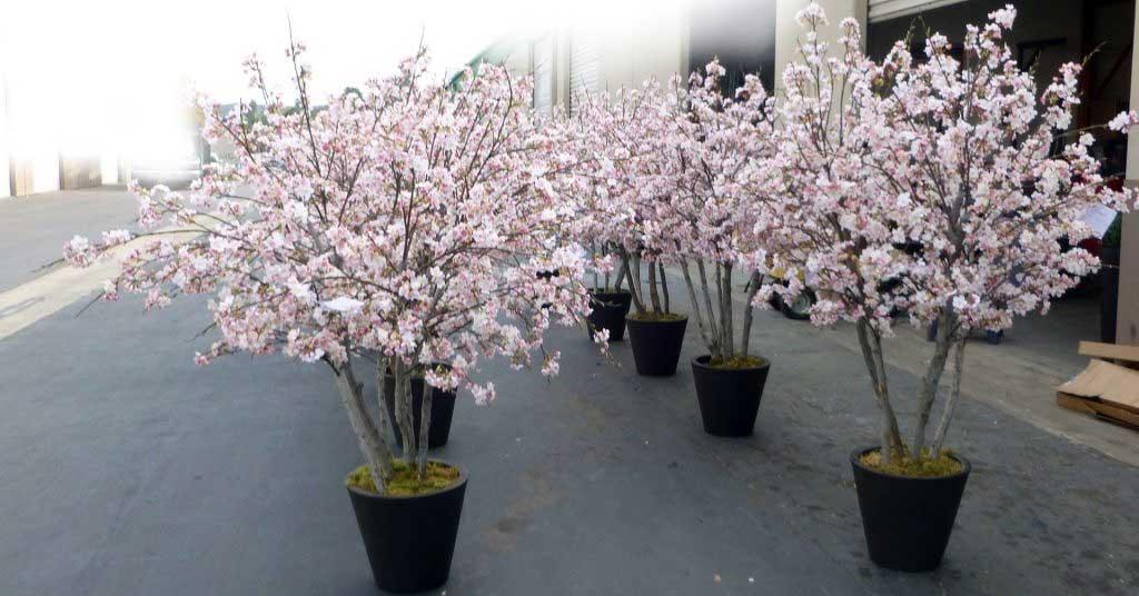 Cherry Blossom Trees, artificial
