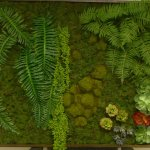 This is a photo of the faux 'living wall' we created for HIMYM before it was delivered to the set.