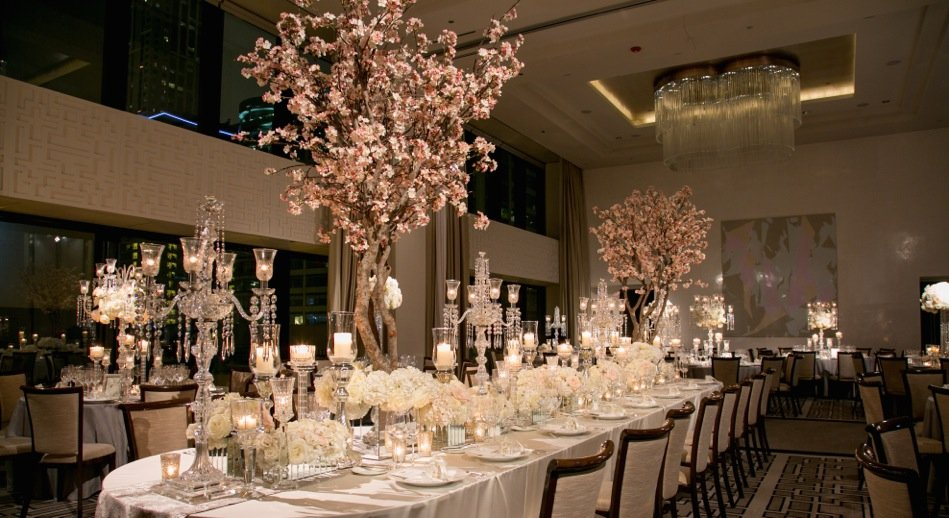 Two Make Be-Leaves creations at a spectacular Chicago wedding