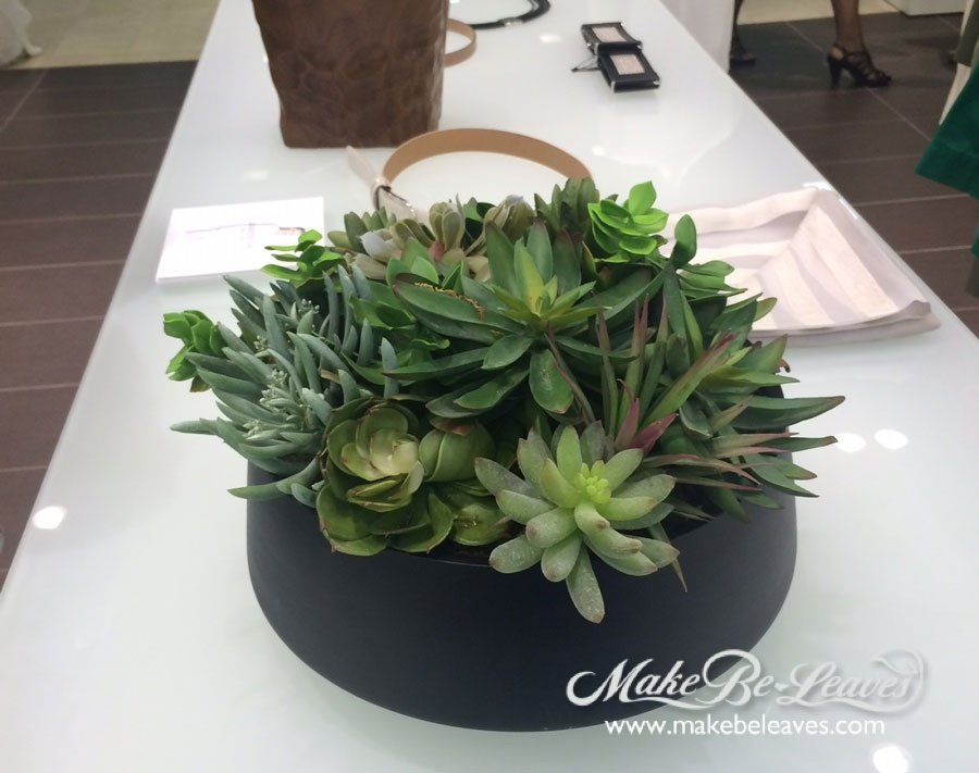 make be-leaves faux succulents saks