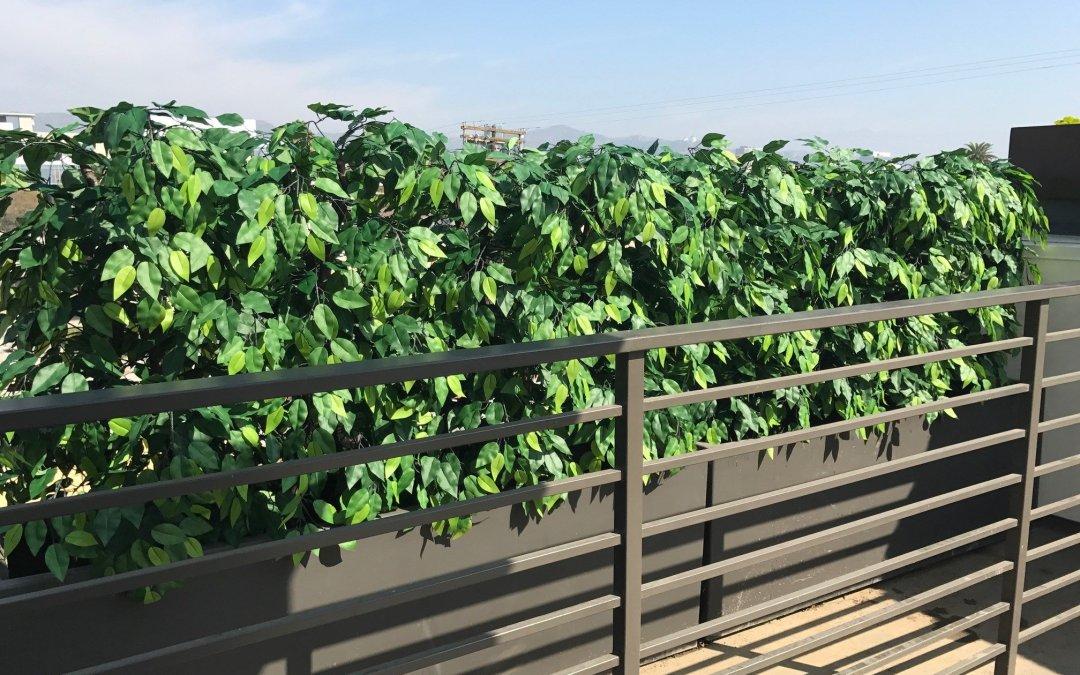 Residential Water-Saving Lush Artificial Plants