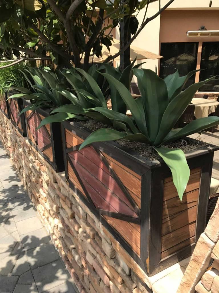 custom UV artificial plantscaping