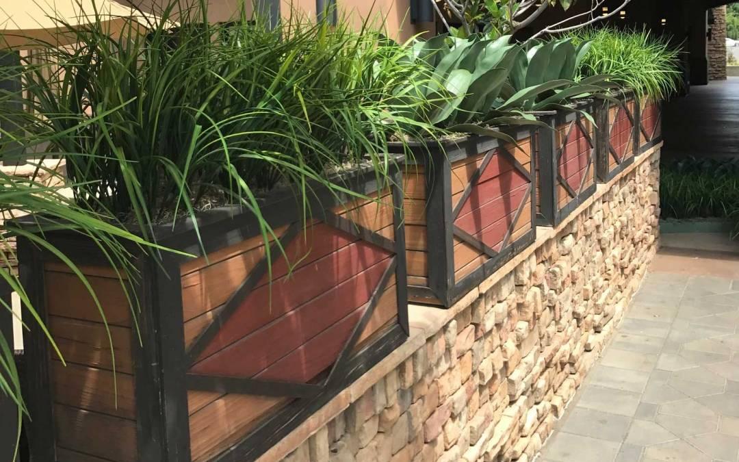 Enhanced Landscaping custom UV artificial plantscaping