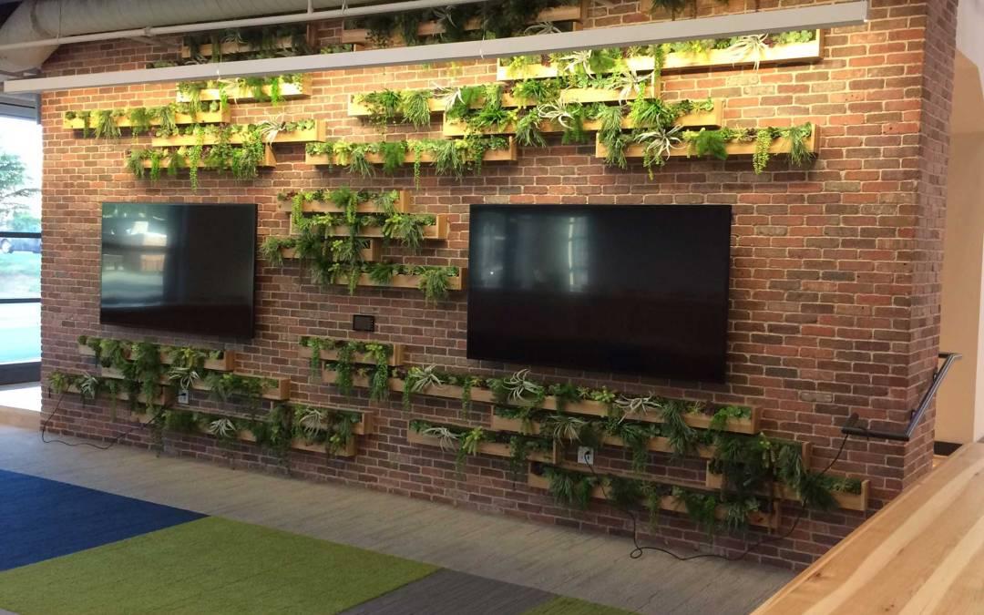 Mixed Artificial Succulent Wall Planting