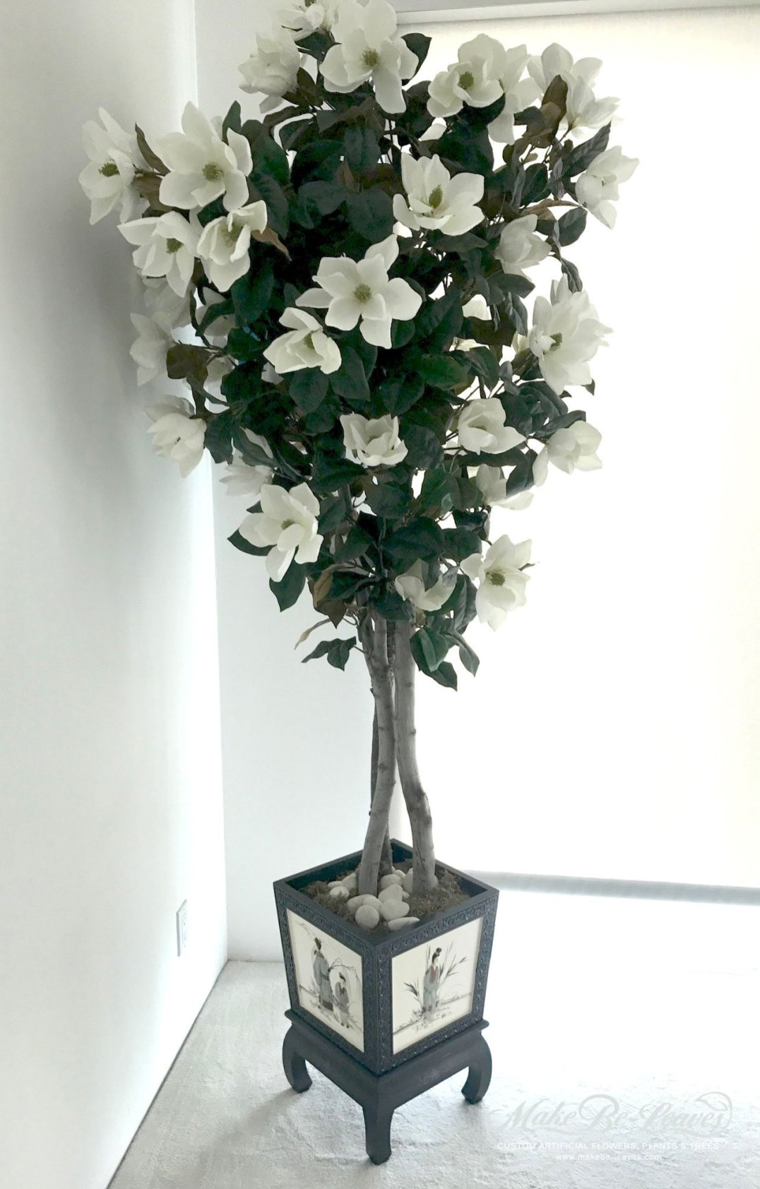 artificial magnolia tree