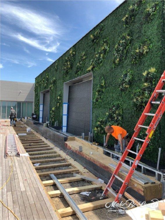 Artificial Green Wall Alexander Court