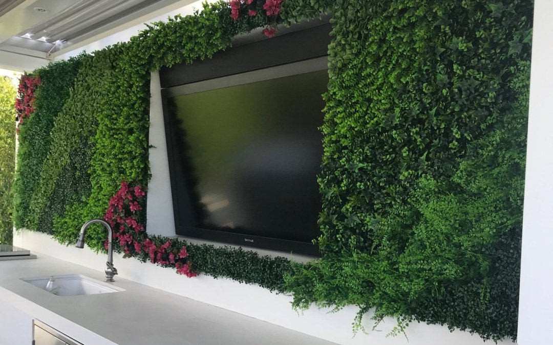 Exterior artificial plants