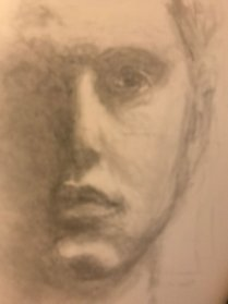 portrait drawing by Susie Ameche #01