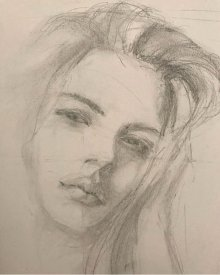 portrait drawing by Susie Ameche #11