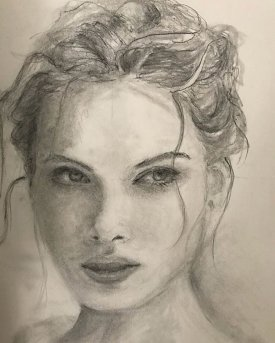 portrait drawing by Susie Ameche #09