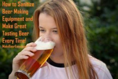 red head girl drinking a pale ale home brew
