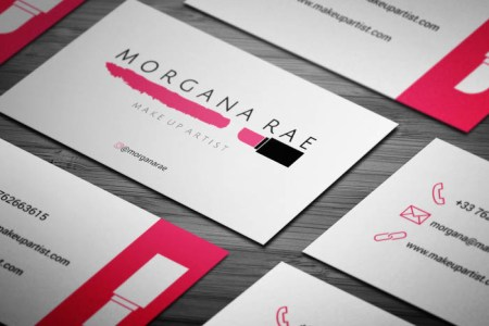 Free Freelance Makeup Artist Business Card Template Freelance Makeup Artist Business Card