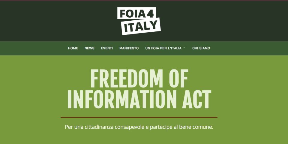 FOIA Fredoom of Information Act