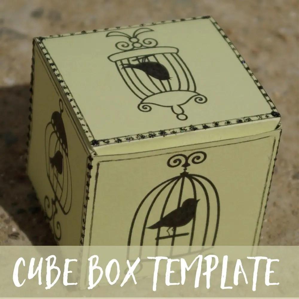 Free Cube Box Templates