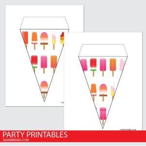Free Printable Lolly Bunting