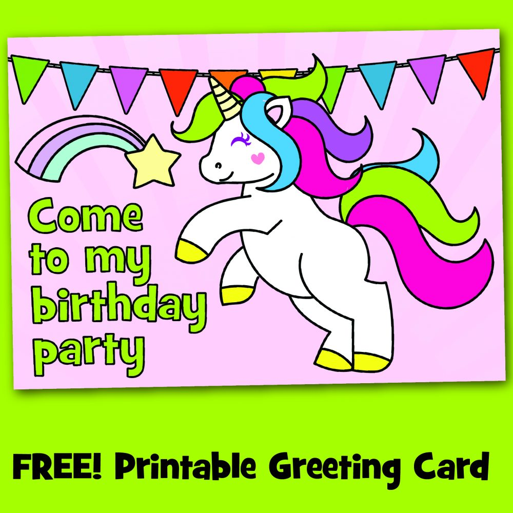 picture about Free Printable Unicorn Invitations named Totally free Printable Unicorn Birthday Occasion Invites - Create Breaks