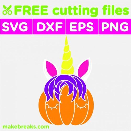 unicorn pumpkin cutting file-01