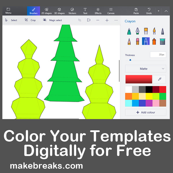 color your templates